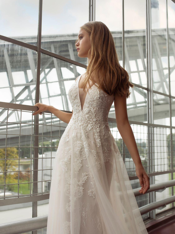 Flare brautkleid blush and fit Brautkleider Online